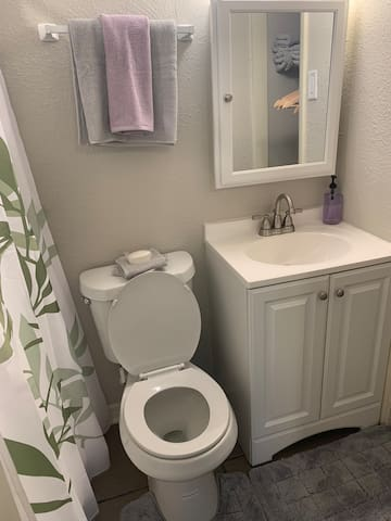 2 bathrooms is so important!