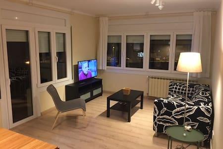 Acogedor apartamento en Sort con vistas al rio.