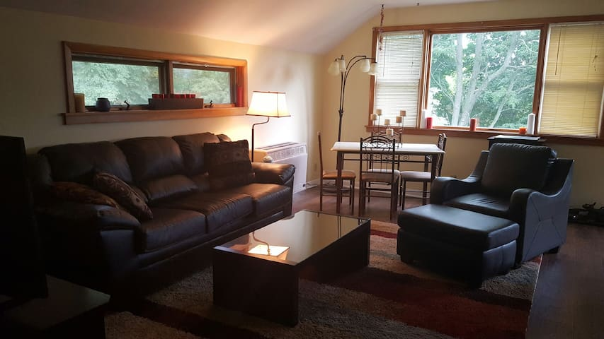 Beautiful Property with Two Bedroom Apartment - Ithaca - Daire