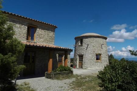 Moulin à vent - Jonquières