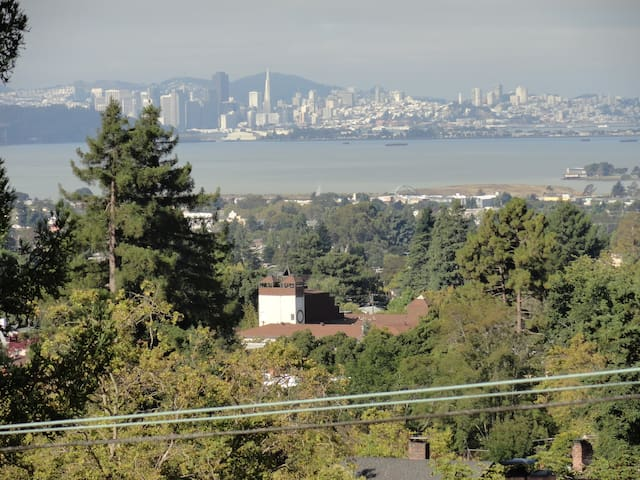 Room with a view. A b&b in Berkeley