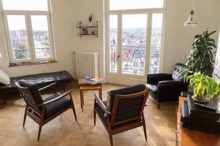 Cosy room in big apartment with panoramic views - 聖吉爾