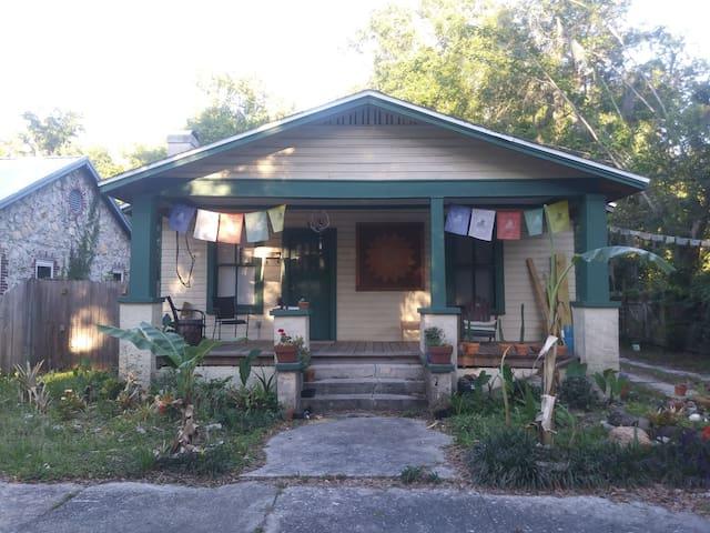 Shanti (peace) House