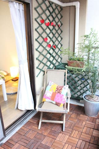 NAMBA great location  for 2 people - 大阪市 - Huis