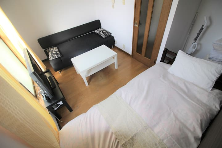 Osaka!Namba! quiet and comfy room★Wifi★302