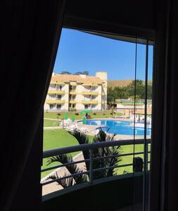Flat aconchegante - Aldeia das Águas Park Resort