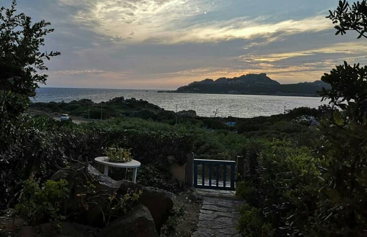 Appartamento con bellissima vista sul mare