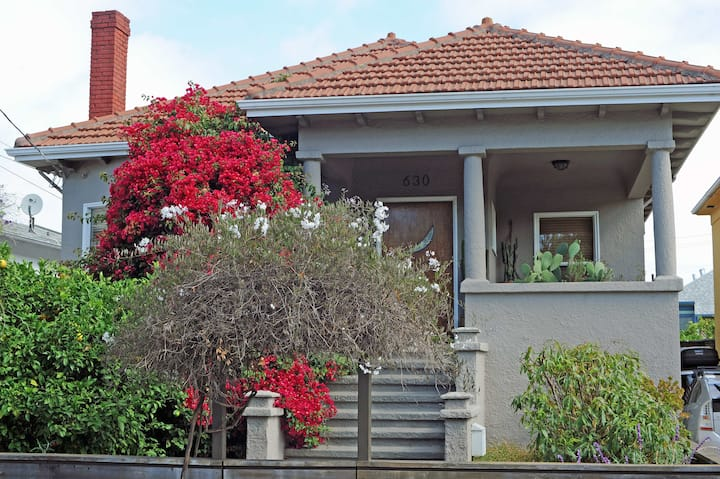 Artful Apartment in 1926 Craftsman  Bungalow House