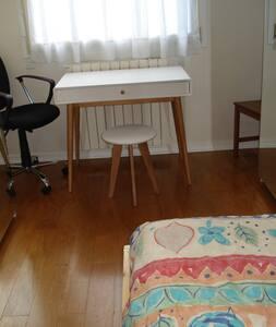 Chambre confortable, salle d'eau individuelle - Lyon-5E-Arrondissement