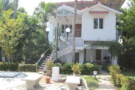 Tranquil Beach House in ECR, Chennai - 金奈 - 小平房