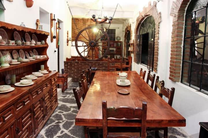 Casa Colonial en el centro de Taxco