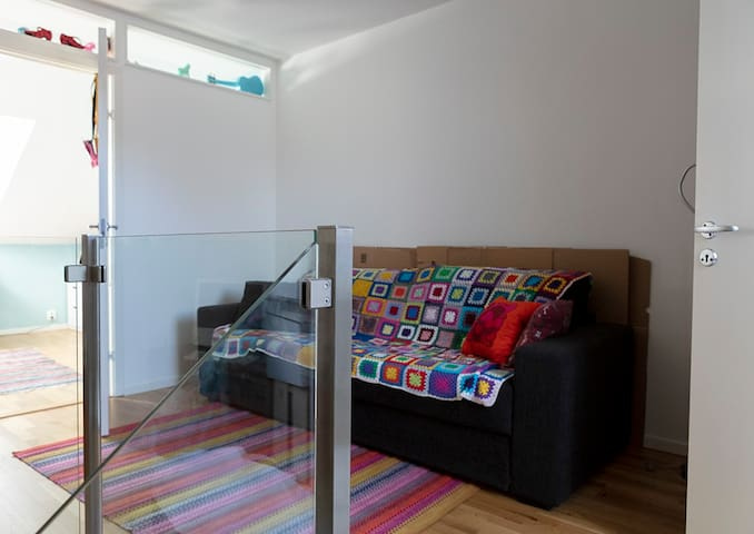Sofa bed with 2 beds