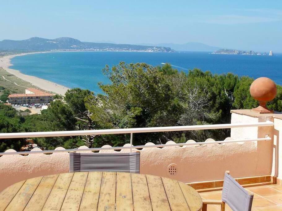 terraza vistas a mar-SA PUNTA COSTA BRAVA