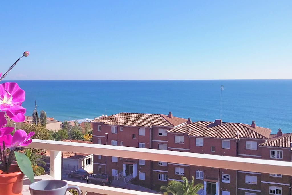 fantastic seaview from the balcony