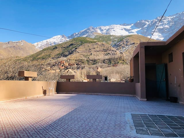 Atlas Mountains Beautiful view