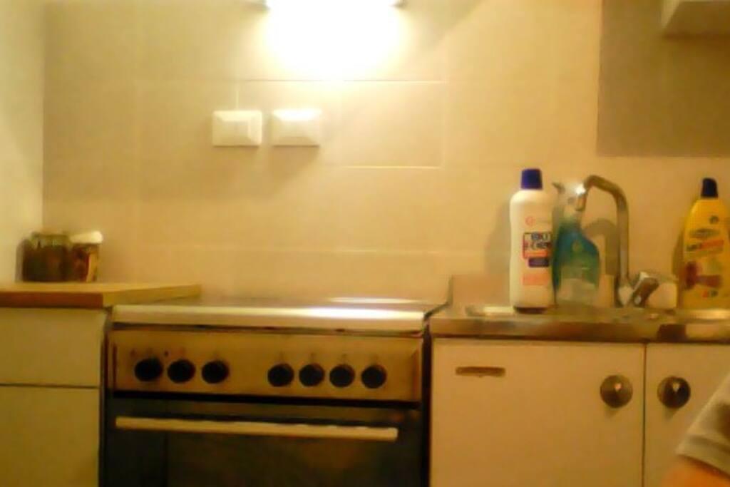 Cucina (appena rinnovata)
