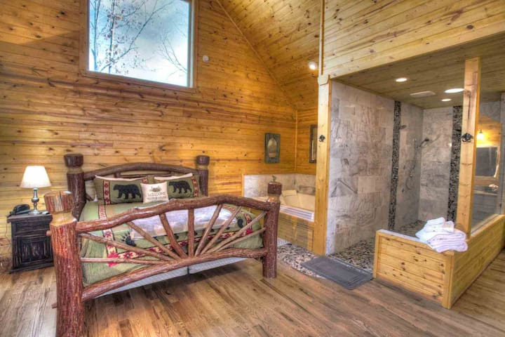 Great Escape- Luxury Spa Cabin w Sauna