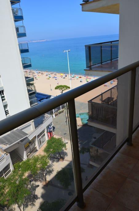 Apartamento en primera línea de mar.