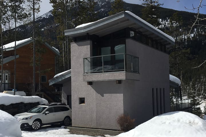 Casa MacRae Custom Contemporary Mountain Home - Panorama - Hús