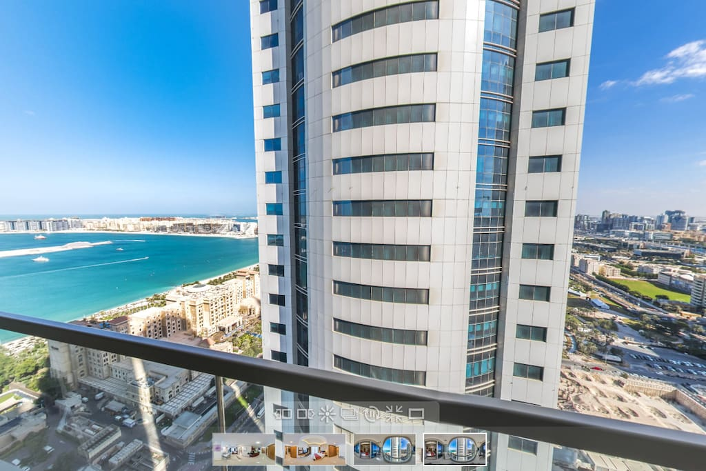 Dubai 6 apartments in ocean heights tower condominiums for Soggiorno dubai