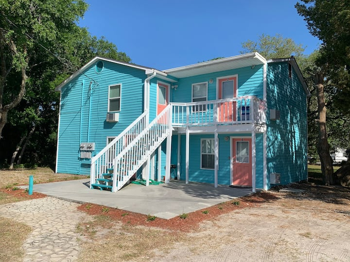 Renovated 2BD Block from Main St and Ocean (#1)