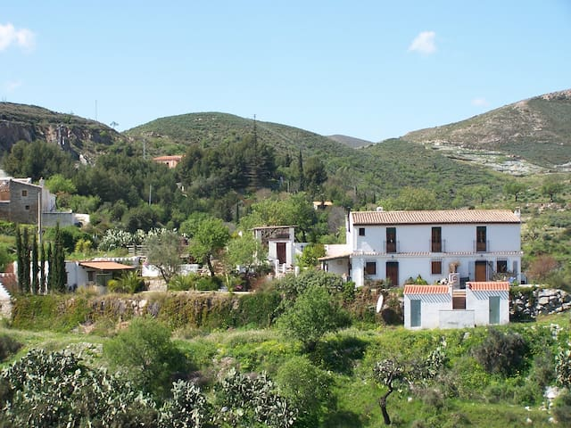 Apartment Castallico 2acre finca - walk to village - Lubrín - Pis