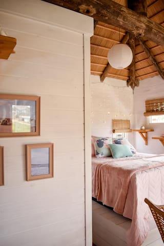 Lo de lu rosada, hermosa cabaña de madera!!!