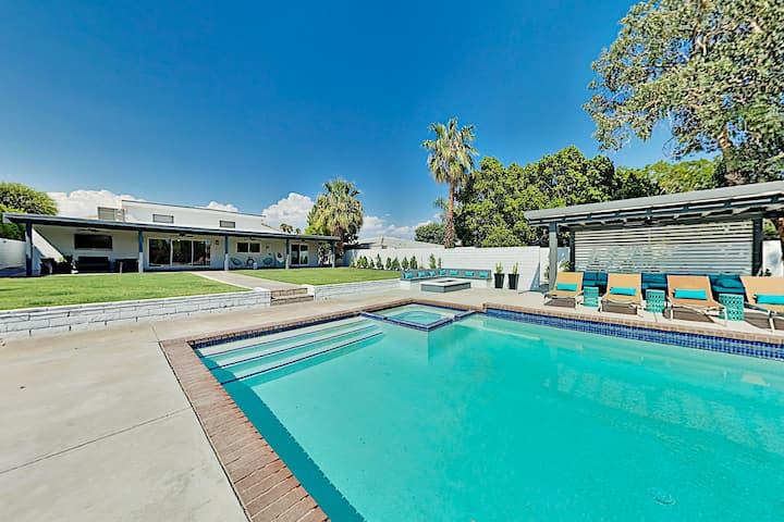 Posh Private Home w/ Amazing Backyard Pool & Spa, Game Room