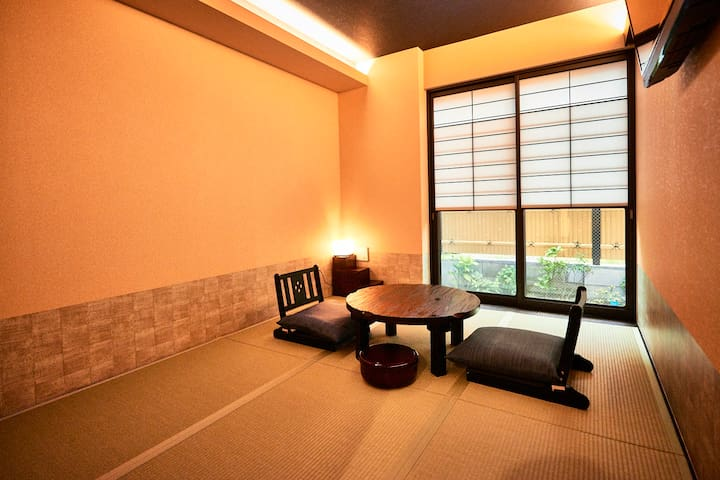 STANDARD JAPANESE-STYLE ROOM WITH GARDEN VIEW