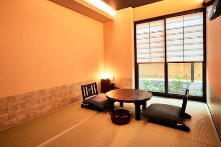 Wagokorohostel Japanese style room with 6 tatami