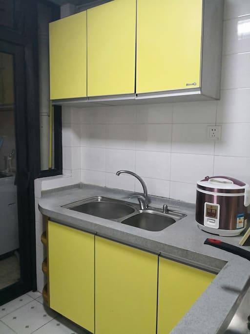 房间里面独立的厨房