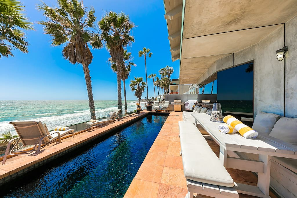 Live life like a king or queen right on the malibu coast