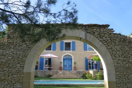 Amazing villa near Gordes - Villa