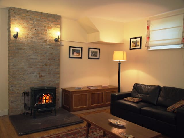 Old Coach Room with wood burning stove