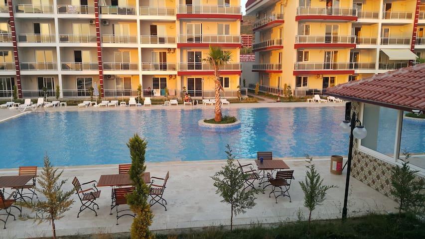 The best Kuşadası, 2+1 Rooms, Rezidans consepts - Kuşadası - Apartamento