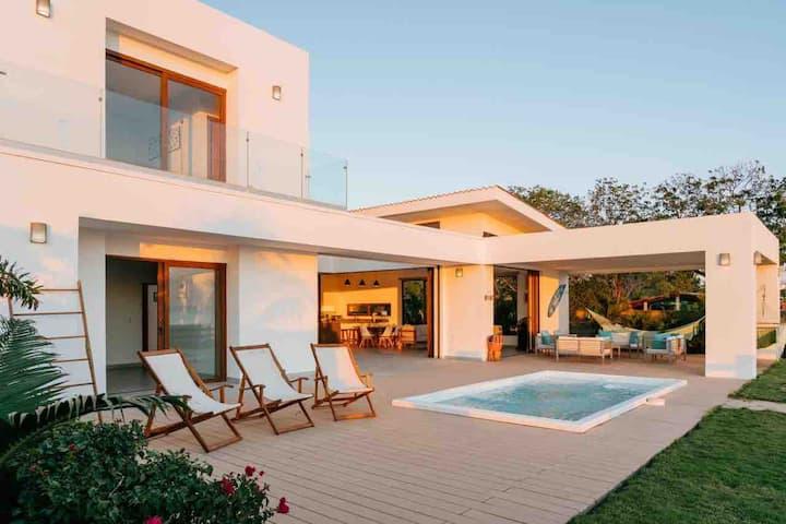 CASA MAR -  Beachfront 3BD House Playa Guasacate