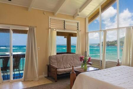 Beachfront whole house 4bd + studio - Hus