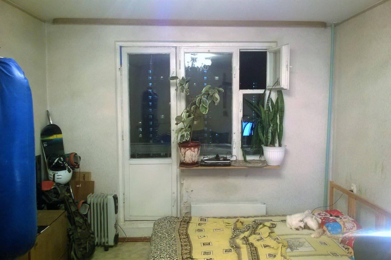Просторная, светлая квартира с балконом.