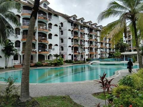 Apartment (3 bedroom) with big pool