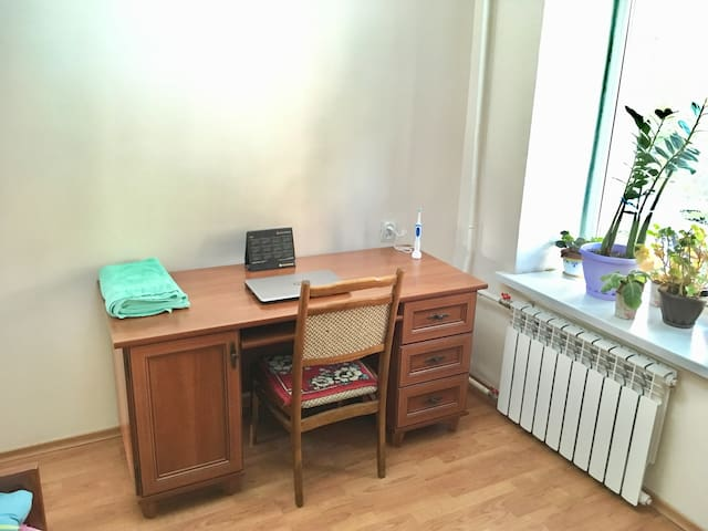 Table and chair for home office