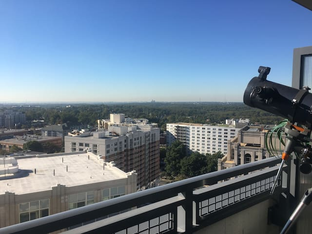 Luxurious & Clean_Penthouse Suite #AMAZING_VIEWS - Silver Spring - Apartment