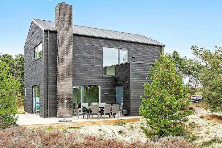 Luxuriöses Ferienhaus in Romo, umgeben von Grün