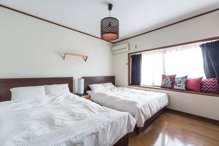 Close to Kyoto Sta-7min. Free-WiFi.Guesthouse遊屋。