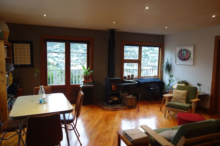 Lyttelton home: cozy and compact - Lyttelton - House