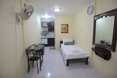 Furnished Studio Single Beds for Friends & Family - Naga