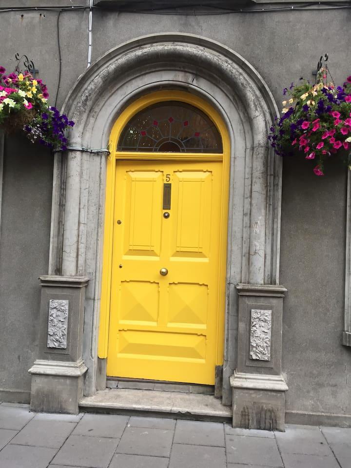 Pauline's front door