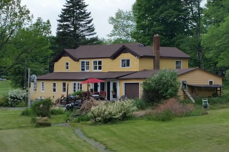 Catskills Rustic House 1829 and Inground Pool - Parksville - Maison