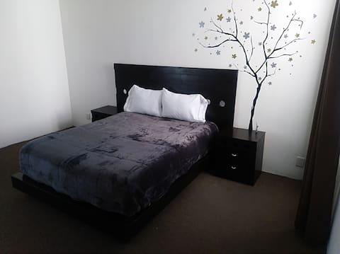 快適なアパートメント( CM 3 )、カップルに最適、UNAM近く