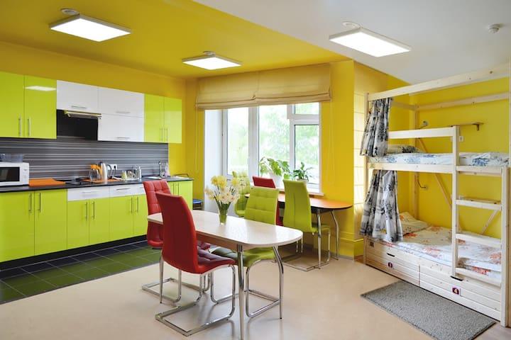 """Отель эконом-класса Хостел """"Нарцисс"""" - Novokuzněck"""