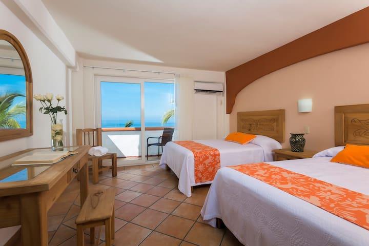 Hotel El Pescador - Habitación vista al mar 2